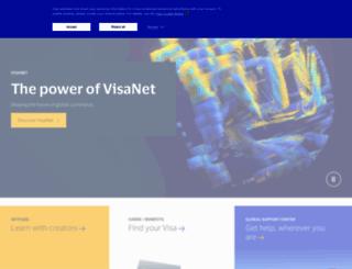 visabanking.com screenshot