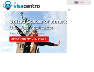 visacentro.myshopify.com screenshot