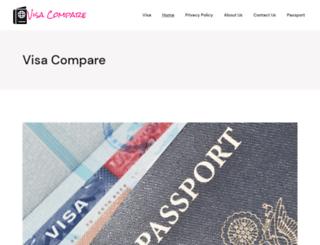 visacompare.com screenshot