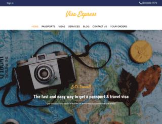 visaexpress.net screenshot