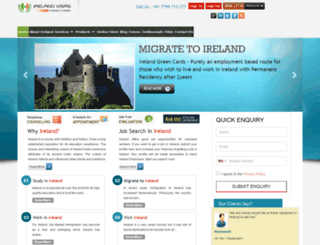 visas2ireland.com screenshot