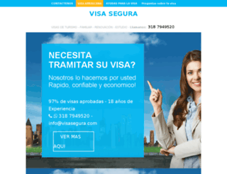 visasegura.com screenshot