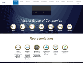 visatelgroup.com screenshot