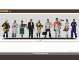 vishis.com screenshot