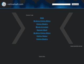 vishnumurti.com screenshot