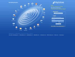 vishwamail.com screenshot