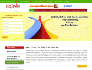 vishwasfincap.com screenshot