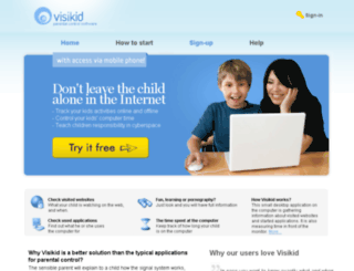 visikid.com screenshot