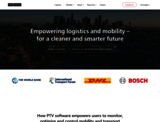 vision-traffic.ptvgroup.com screenshot