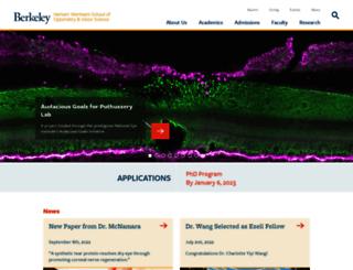 vision.berkeley.edu screenshot