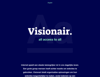 visionair.com screenshot