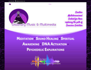 visionarymusic.com screenshot