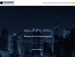 visionaryprivateequitygroup.com screenshot