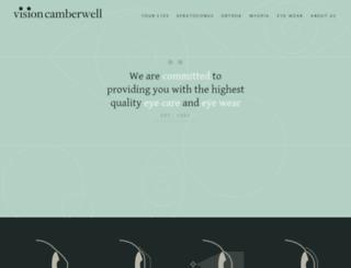 visioncamberwell.com.au screenshot