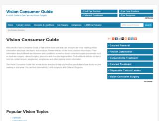 visionconsumerguide.com screenshot
