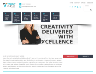 visioncurve.com screenshot