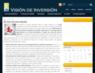 visiondeinversion.com screenshot