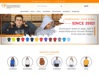 visionembroidery.com screenshot