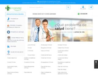 visionfarma.es screenshot