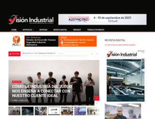visionindustrial.com.mx screenshot