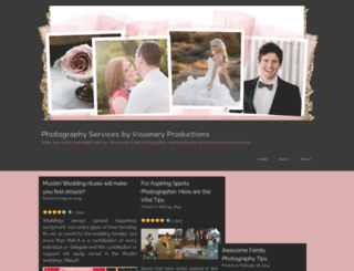 visionproductionmedia.wordpress.com screenshot