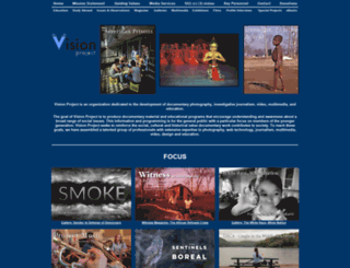 visionproject.org screenshot