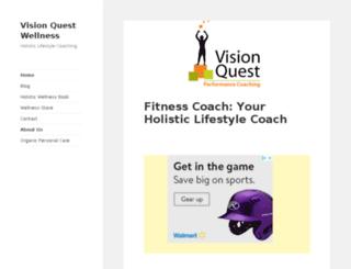 visionquestwellness.com screenshot