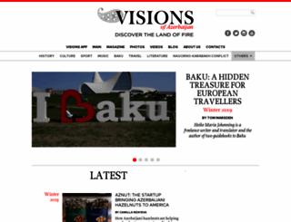 visions.az screenshot