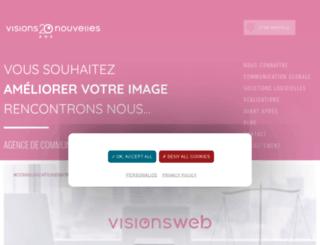 visionsnouvelles.com screenshot