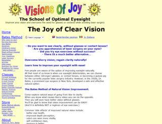 visionsofjoy.org screenshot