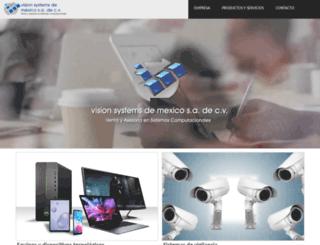 visionsystems.com.mx screenshot
