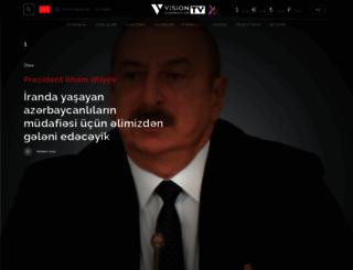 visiontv.az screenshot