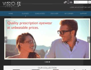 visiorx.com screenshot