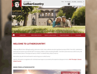 visit-luther.com screenshot