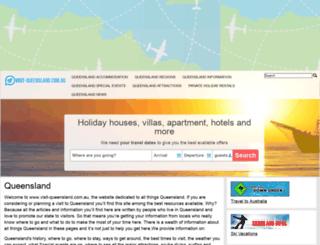 visit-queensland.com.au screenshot