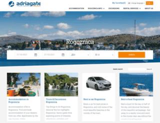 visit-rogoznica.com screenshot