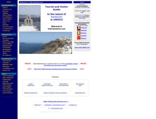 visit-santorini.com screenshot