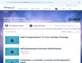 visit.disneylandparis.co.uk screenshot