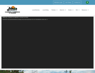 visitadamscountywi.com screenshot