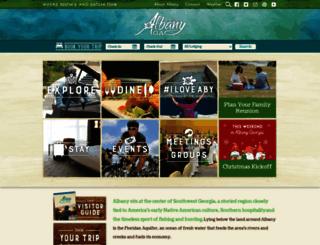 visitalbanyga.com screenshot
