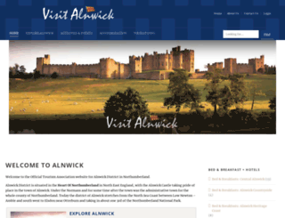 visitalnwick.org.uk screenshot