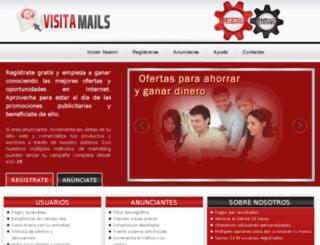 visitamails.com screenshot