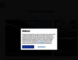 visitantwerpen.be screenshot