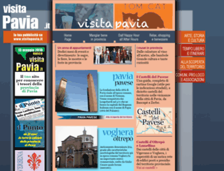 visitapavia.it screenshot