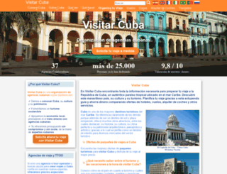 visitarcuba.org screenshot