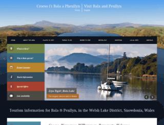 visitbala.org.uk screenshot