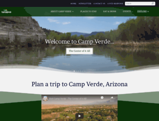 visitcampverde.com screenshot