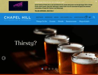 visitchapelhill.org screenshot