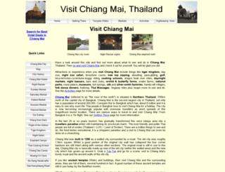 visitchiangmai.com.au screenshot