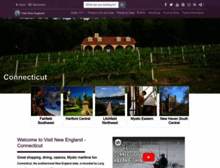 visitconnecticut.com screenshot